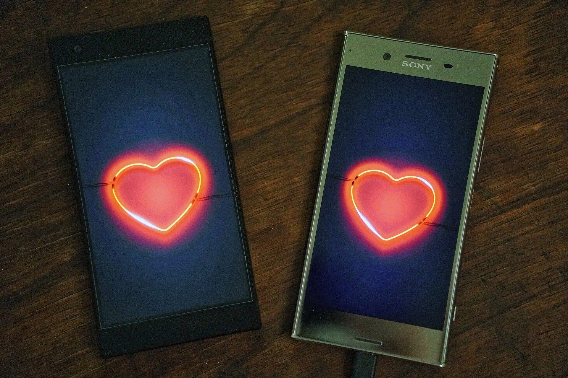 Virtual love!