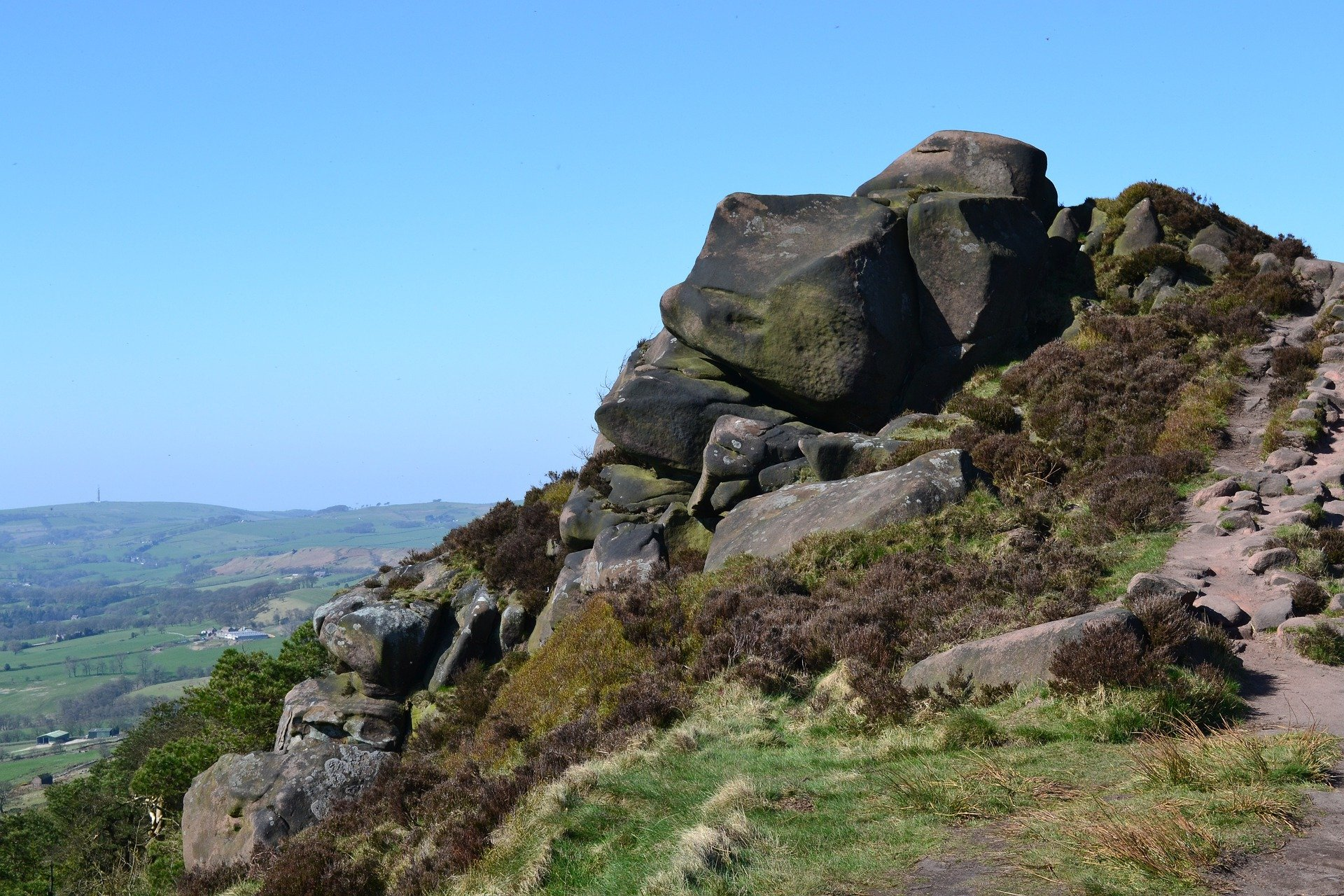 The Roaches, Staffordshire