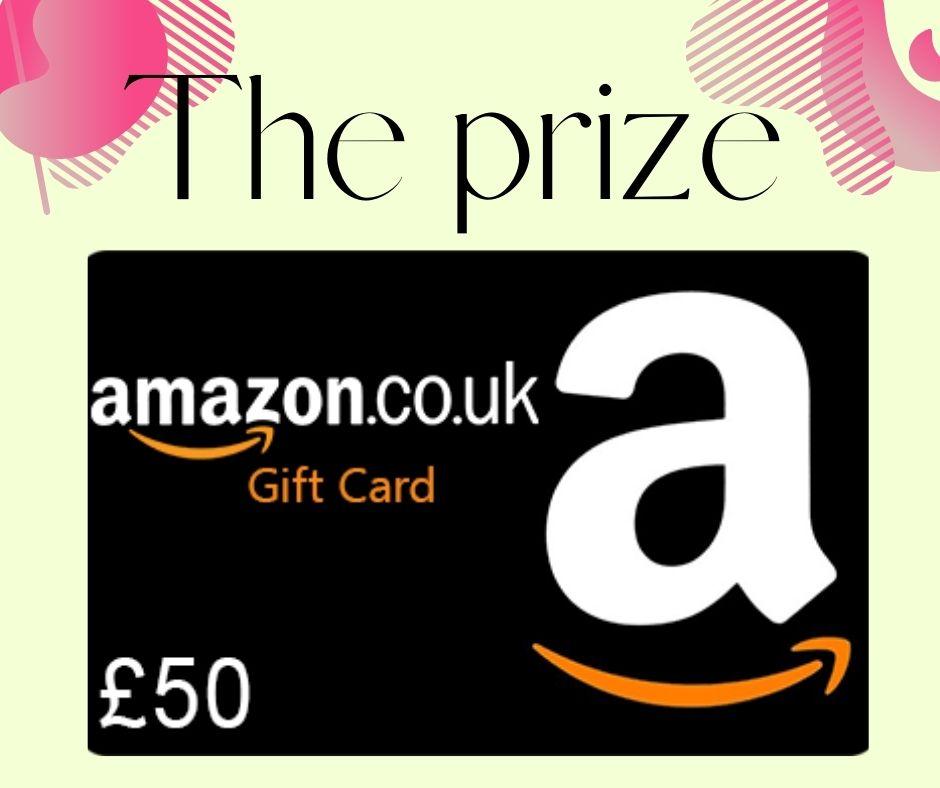 Win a £50 Amazon voucher
